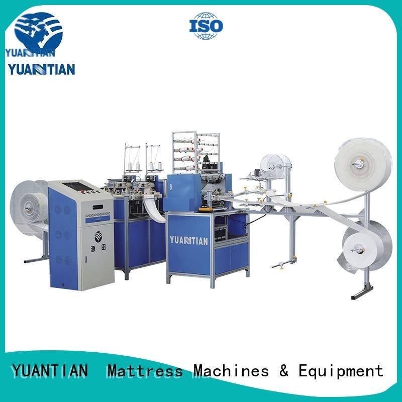 YUANTIAN Mattress Machines Brand dzhf1g border quilting machine for mattress single four