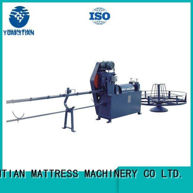 YUANTIAN Mattress Machines Brand unit poket foam mattress making machine unpressing wire