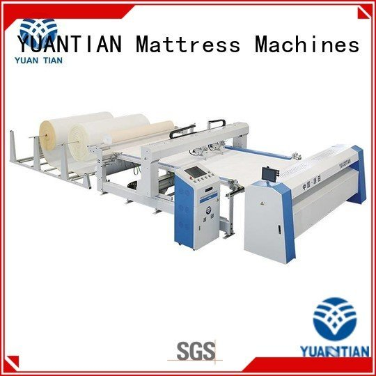 YUANTIAN Mattress Machines Brand wbsh3 dzhf2h machine quilting machine for mattress price