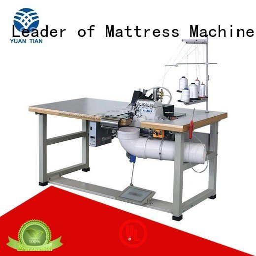 Quality YUANTIAN Mattress Machines Brand Double Sewing Heads Flanging Machine