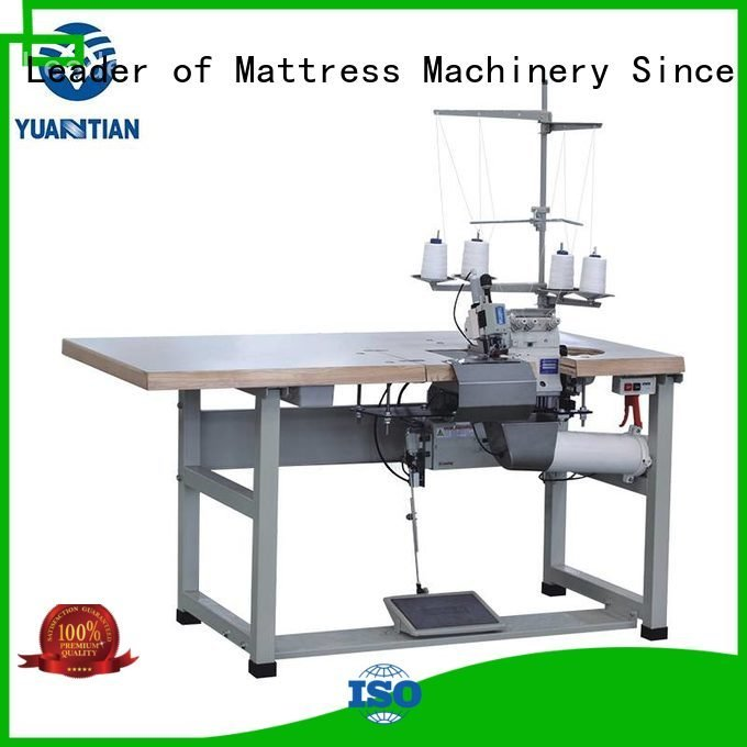 multifunction heads machine YUANTIAN Mattress Machines Double Sewing Heads Flanging Machine