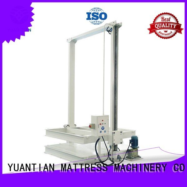 foam mattress making machine unit straightening mattress packing machine YUANTIAN Mattress Machines Warranty