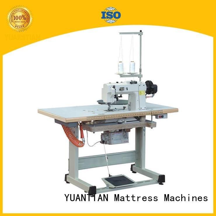 Hot mattress tape edge machine table mattress tape edge machine tape YUANTIAN Mattress Machines