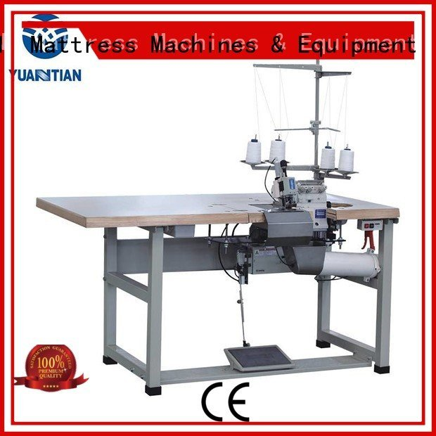 YUANTIAN Mattress Machines Brand heads ds8a multifunction Double Sewing Heads Flanging Machine