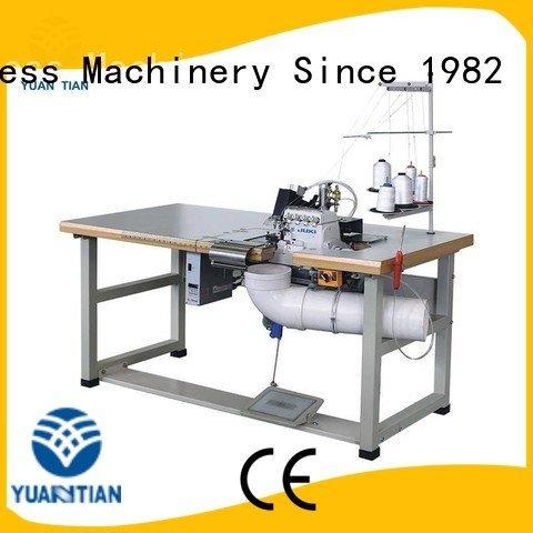 Double Sewing Heads Flanging Machine sewing YUANTIAN Mattress Machines Brand Mattress Flanging Machine