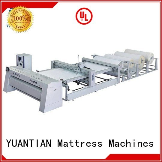 YUANTIAN Mattress Machines Brand single mattress lockstitch quilting machine for mattress machine