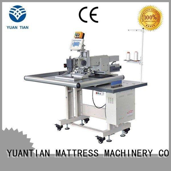 singer  mattress  sewing machine price label arm OEM Mattress Sewing Machine YUANTIAN Mattress Machines