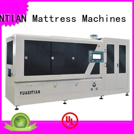 YUANTIAN Mattress Machines Automatic Pocket Spring Machine coiler automatic coiling assembling