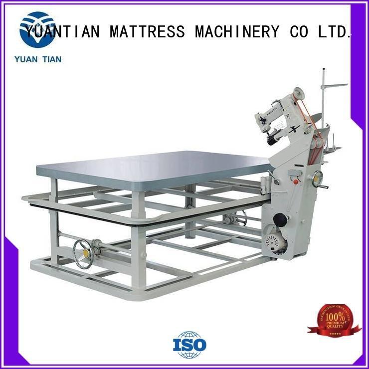 YUANTIAN Mattress Machines Brand tape binding table mattress tape edge machine top