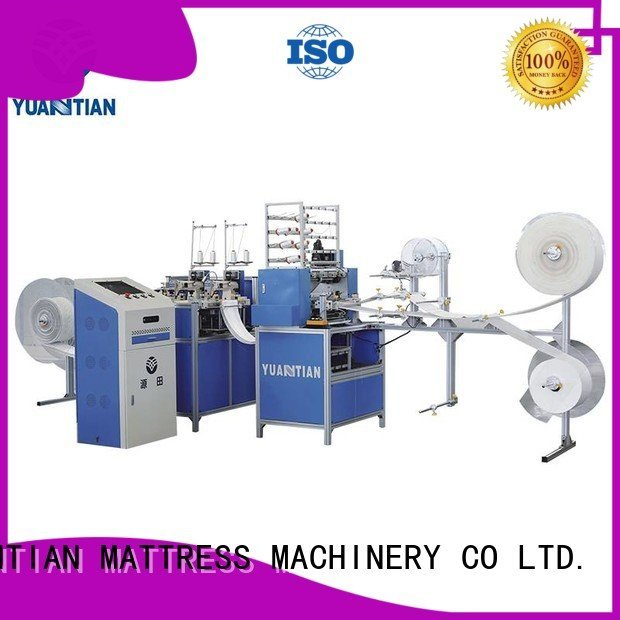 four mattress quilting machine for mattress stitching YUANTIAN Mattress Machines