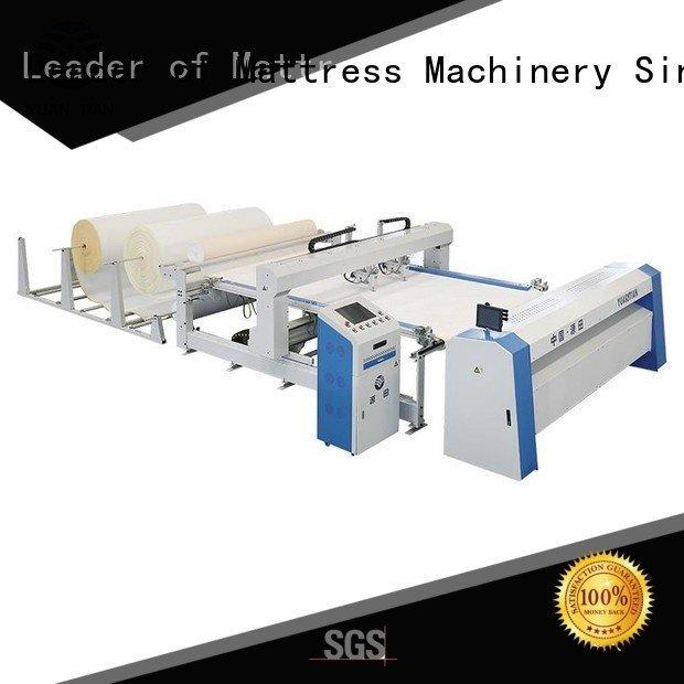 YUANTIAN Mattress Machines quilting machine for mattress price mattress border singleneedle