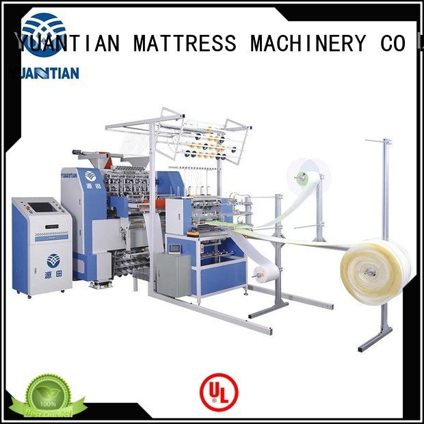 YUANTIAN Mattress Machines Brand side quilting machine for mattress price stitching double