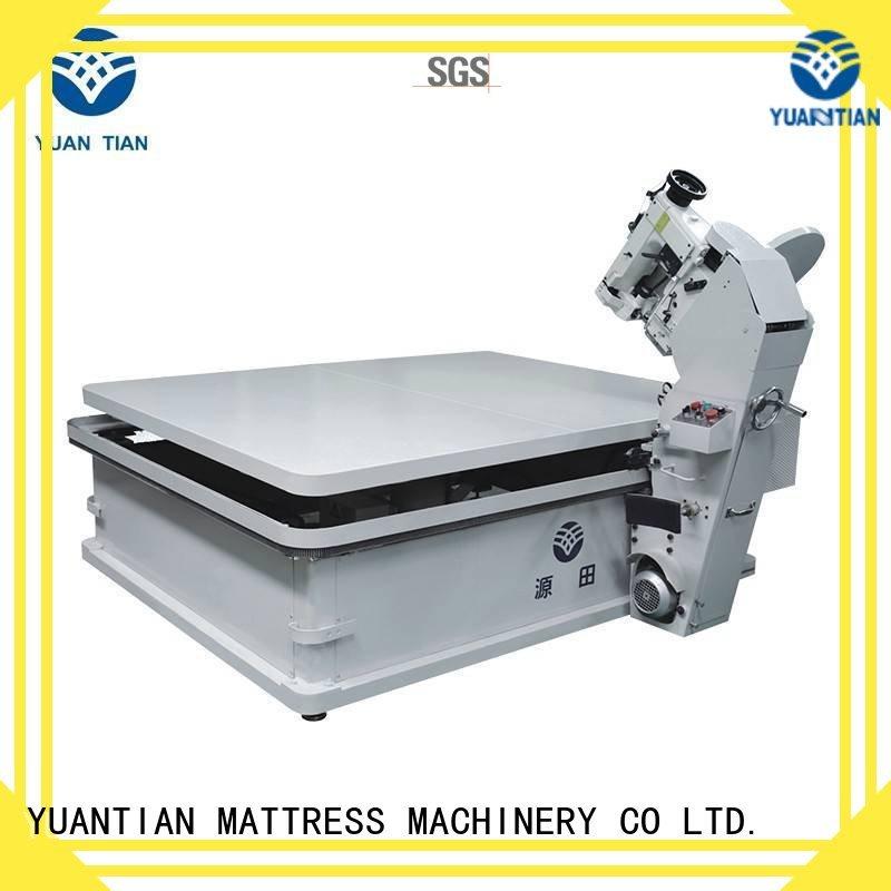 Custom top mattress tape edge machine mattress YUANTIAN Mattress Machines