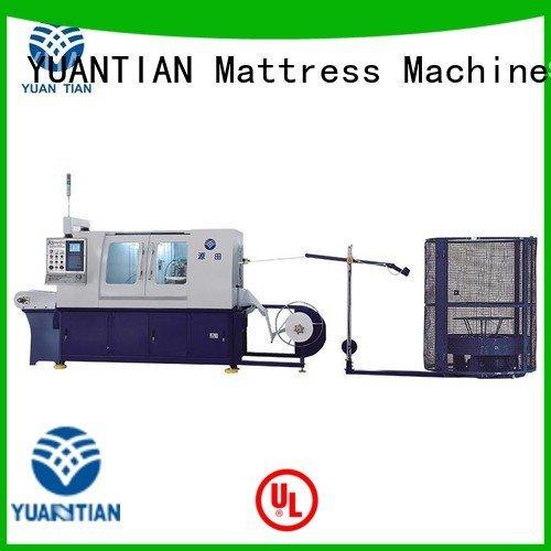 coiler machine spring pocket YUANTIAN Mattress Machines Automatic High Speed Pocket Spring Machine