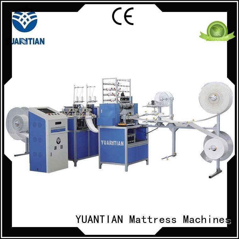 quilting machine for mattress price machine quilting quilting machine for mattress YUANTIAN Mattress Machines Warranty