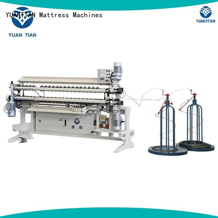 Hot bonnell spring unit machine assembling Bonnell Spring Assembly  Machine cw2 YUANTIAN Mattress Machines