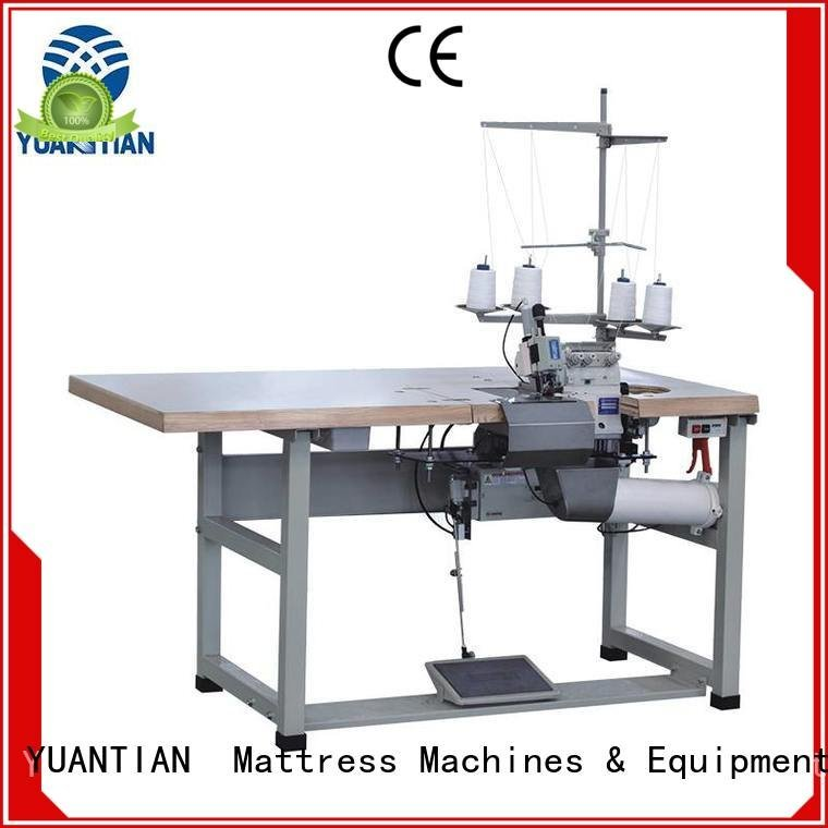 YUANTIAN Mattress Machines Double Sewing Heads Flanging Machine heavyduty mattress machine