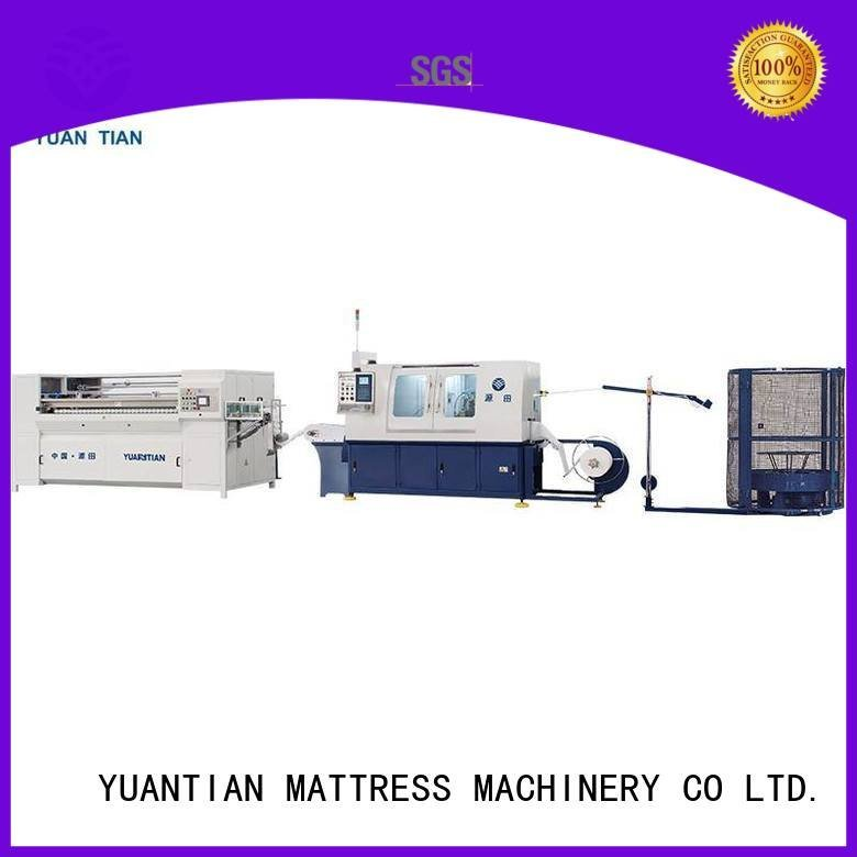 Automatic Pocket Spring Machine machine speed YUANTIAN Mattress Machines Brand