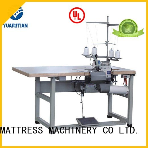 Custom flanging Mattress Flanging Machine dss1250 Double Sewing Heads Flanging Machine
