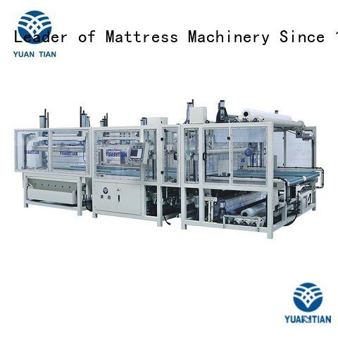 zx1 border foam mattress making machine YUANTIAN Mattress Machines