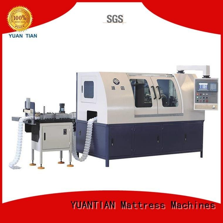 YUANTIAN Mattress Machines Brand pocket machine Automatic High Speed Pocket Spring Machine dn6 pocketspring