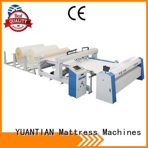 Hot quilting machine for mattress price lockstitch quilting machine for mattress multineedle YUANTIAN Mattress Machines