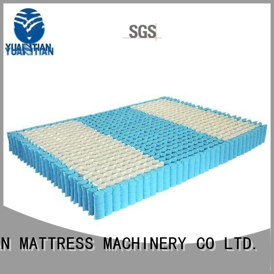mattress spring unit bottom zoned YUANTIAN Mattress Machines Brand