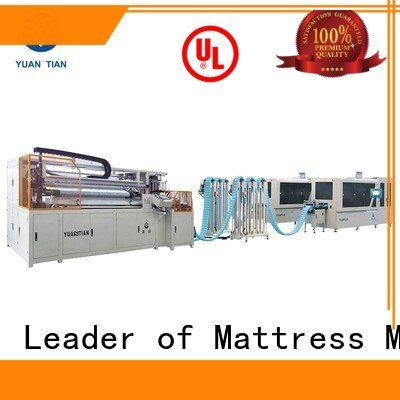 YUANTIAN Mattress Machines Automatic Pocket Spring Machine machine spring speed pocketspring
