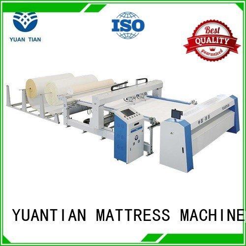 quilting machine for mattress price double single quilting machine for mattress YUANTIAN Mattress Machines Warranty