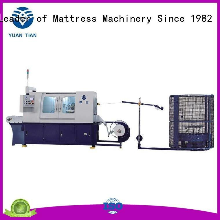 speed dzg6 pocketspring Automatic High Speed Pocket Spring Machine YUANTIAN Mattress Machines