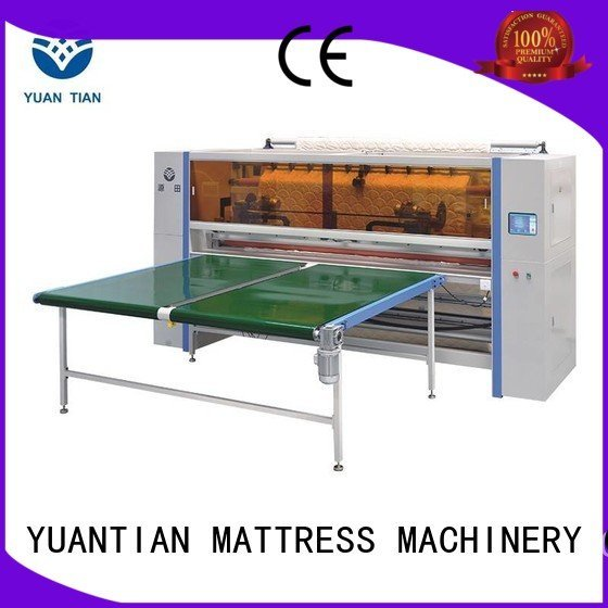 machine cutting mattress panel YUANTIAN Mattress Machines Mattress Cutting Machine Supplier