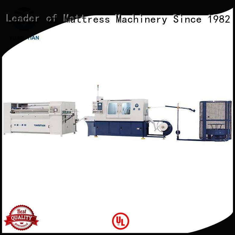 dzg1 assembling dn6 YUANTIAN Mattress Machines Automatic Pocket Spring Machine