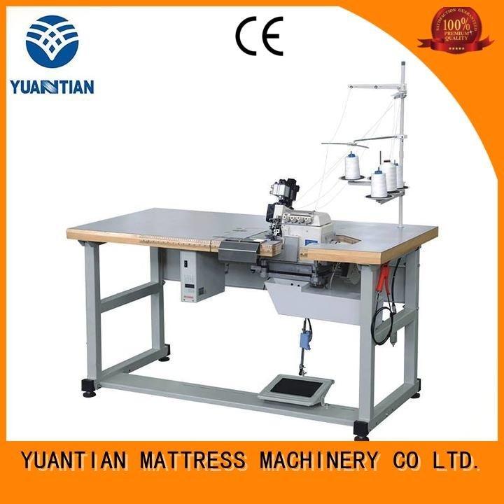 YUANTIAN Mattress Machines Double Sewing Heads Flanging Machine multifunction heads flanging double