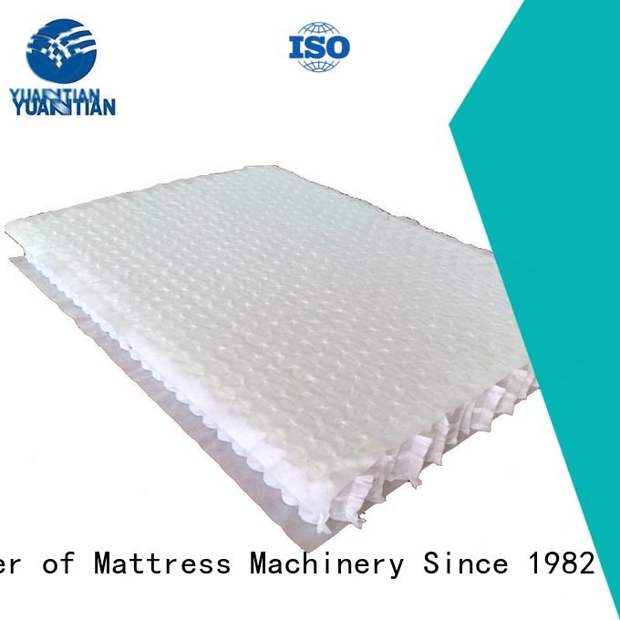 Custom mattress spring unit nonwoven unit bottom YUANTIAN Mattress Machines