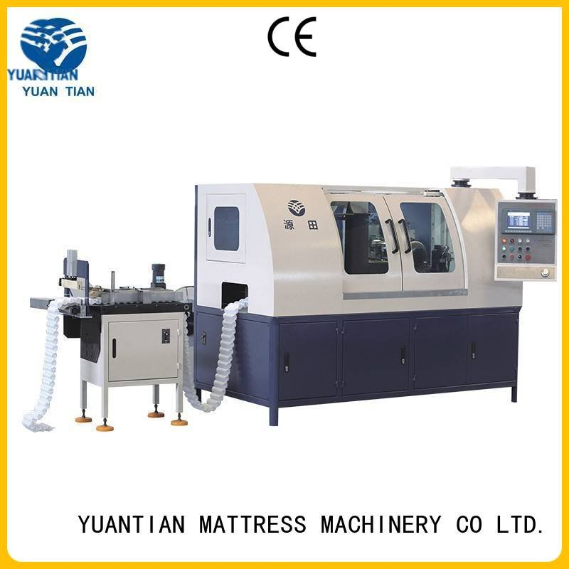 pocket coiler YUANTIAN Mattress Machines Automatic Pocket Spring Machine