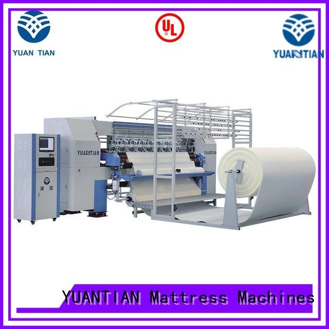 single mattress heads stitching YUANTIAN Mattress Machines quilting machine for mattress