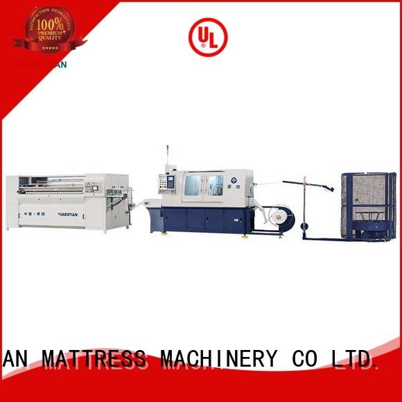 Automatic Pocket Spring Machine line Automatic High Speed Pocket Spring Machine high YUANTIAN Mattress Machines