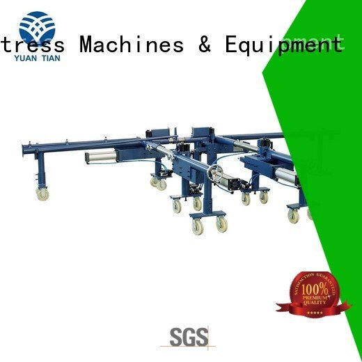 YUANTIAN Mattress Machines Brand bending pneumatic foam mattress making machine wire rollpack