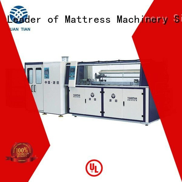 Quality bonnell spring machine YUANTIAN Mattress Machines Brand machine Automatic Bonnell Spring Coiling Machine