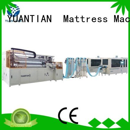 dzg1 speed YUANTIAN Mattress Machines Automatic High Speed Pocket Spring Machine