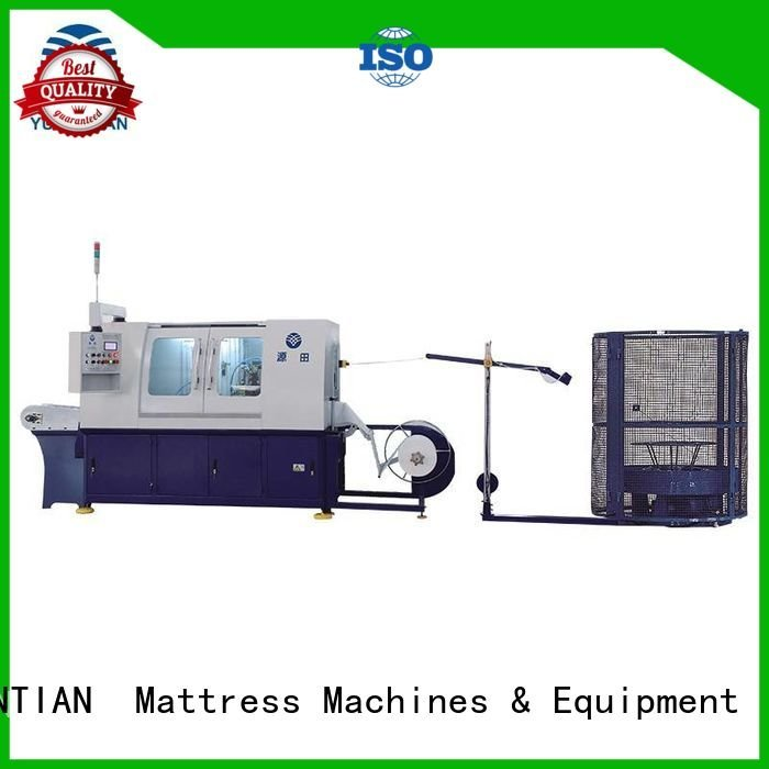 Automatic Pocket Spring Machine high assembling spring YUANTIAN Mattress Machines