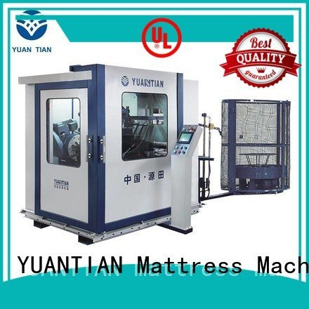 YUANTIAN Mattress Machines coiler Automatic Bonnell Spring Coiling Machine bonnell automatic