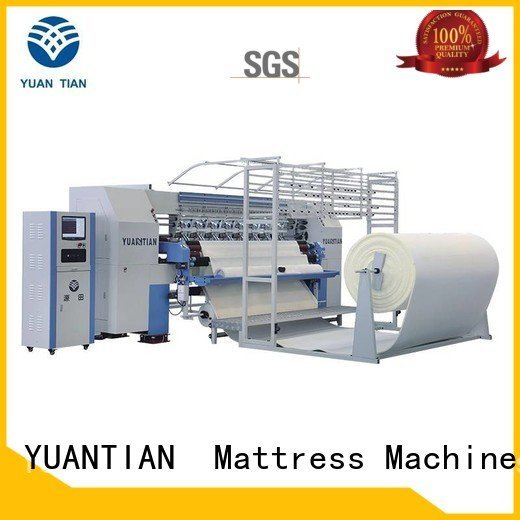YUANTIAN Mattress Machines Brand single double quilting machine for mattress needle four