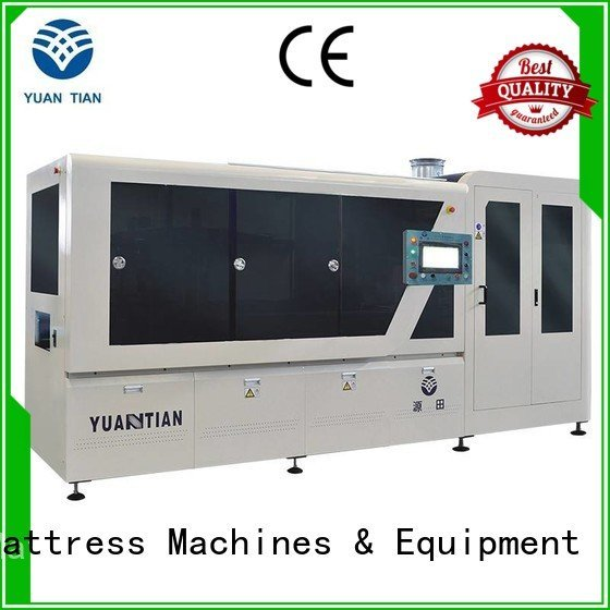 high coiling assembler Automatic High Speed Pocket Spring Machine YUANTIAN Mattress Machines