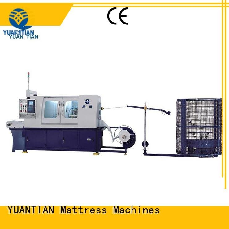 YUANTIAN Mattress Machines Brand dzg1 line Automatic Pocket Spring Machine high dtdx012