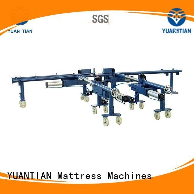OEM mattress packing machine machine straightening foam mattress making machine