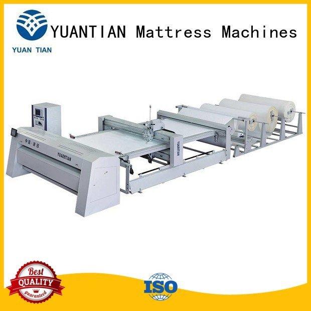 quilting machine for mattress price quilting stitching YUANTIAN Mattress Machines Brand