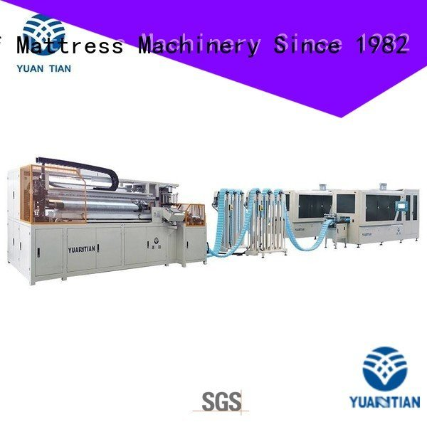 YUANTIAN Mattress Machines Brand speed dt012 Automatic Pocket Spring Machine pocket dzg1a