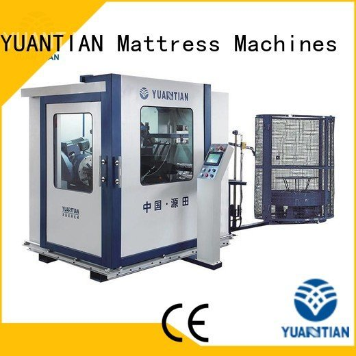 YUANTIAN Mattress Machines Brand tx012 coiler unit Automatic Bonnell Spring Coiling Machine spring