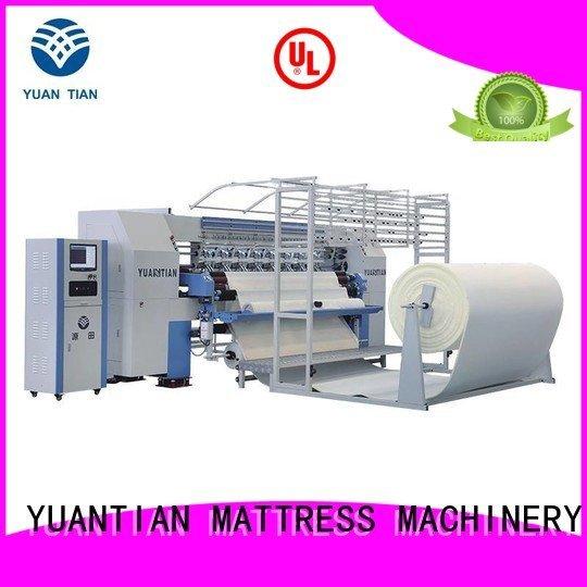 YUANTIAN Mattress Machines Brand needle stitching lockstitch quilting machine for mattress price
